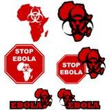 Στάση Ebola Στοκ Εικόνα
