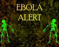 Στάση Ebola Στοκ εικόνα με δικαίωμα ελεύθερης χρήσης