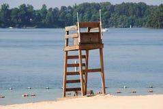 Στάση Lifeguard στοκ εικόνες