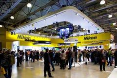 Στάση Nikon στην έκθεση της Μόσχας Στοκ φωτογραφία με δικαίωμα ελεύθερης χρήσης