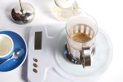 Στάλαγμα καφέ στοκ εικόνες με δικαίωμα ελεύθερης χρήσης