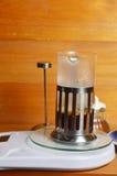 Στάλαγμα καφέ στοκ εικόνα