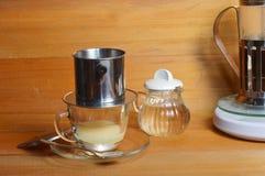 Στάλαγμα καφέ στοκ εικόνες