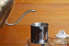 Στάλαγμα καφέ στοκ φωτογραφίες