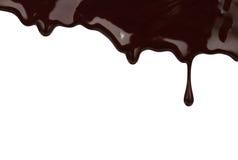 στάλαγμα σοκολάτας που στοκ φωτογραφία με δικαίωμα ελεύθερης χρήσης