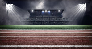 Στάδιο αθλητισμού Στοκ φωτογραφία με δικαίωμα ελεύθερης χρήσης