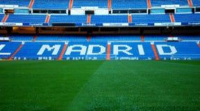 Στάδιο της Real Madrid FC Στοκ εικόνα με δικαίωμα ελεύθερης χρήσης