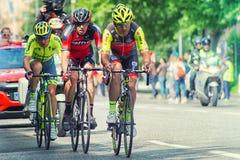 Στάδιο 17 του Giro d'Italia Στοκ εικόνα με δικαίωμα ελεύθερης χρήσης
