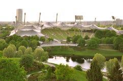 Στάδιο του Olympiapark Στοκ Εικόνες