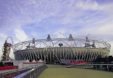 Στάδιο τροχιάς ArcelorMittal Ολυμπιακών Αγώνων 2012 του Λονδίνου Στοκ Εικόνες