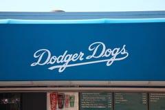 Στάδιο των Dodgers - απατεώνες του Λος Άντζελες Στοκ Εικόνα
