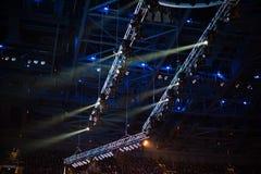 στάδιο φωτισμού Στοκ φωτογραφίες με δικαίωμα ελεύθερης χρήσης