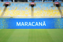 Στάδιο Maracana Στοκ Εικόνες
