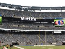 Στάδιο MetLife - γίγαντες των New York Jets στοκ εικόνα με δικαίωμα ελεύθερης χρήσης