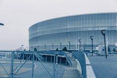 Στάδιο Wroclaw, κρύο υπόβαθρο τόνου Στοκ Εικόνα