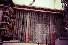 Στέγαση κοινής ωφελείας κάτω από την κατασκευή Στοκ Εικόνα