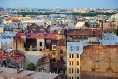στέγες Άγιος της Πετρούπολης Στοκ φωτογραφία με δικαίωμα ελεύθερης χρήσης