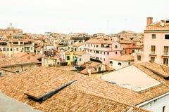 στέγες Βενετία στοκ εικόνα