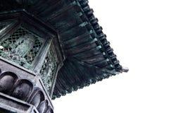 Στέγες μετάλλων στο παραδοσιακό κινεζικός-ύφος Στοκ εικόνα με δικαίωμα ελεύθερης χρήσης
