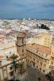 Στέγες πόλεων του Καντίζ, Ισπανία Στοκ Εικόνα