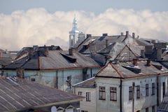 στέγες σπιτιών Στοκ Εικόνα
