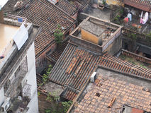 Στέγες στην Κίνα Στοκ φωτογραφίες με δικαίωμα ελεύθερης χρήσης