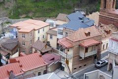 Στέγες στο Tbilisi, Γεωργία Στοκ Εικόνα