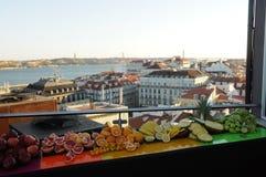 στέγες της Λισσαβώνας Στοκ φωτογραφία με δικαίωμα ελεύθερης χρήσης