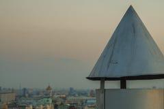 Στέγες της Μόσχας που εξισώνουν την άποψη Στοκ Εικόνες