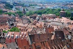 Στέγες της Νυρεμβέργης στοκ εικόνα με δικαίωμα ελεύθερης χρήσης