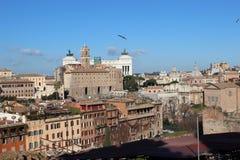 στέγες της Ρώμης Στοκ Φωτογραφία
