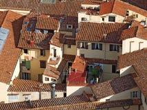 Στέγες της Φλωρεντίας, Ιταλία Στοκ φωτογραφία με δικαίωμα ελεύθερης χρήσης