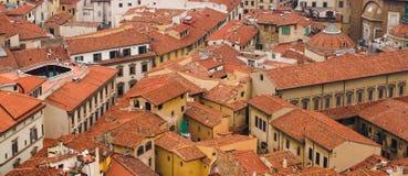 στέγες της Φλωρεντίας Στοκ φωτογραφία με δικαίωμα ελεύθερης χρήσης