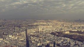 στέγες του Παρισιού απόθεμα βίντεο