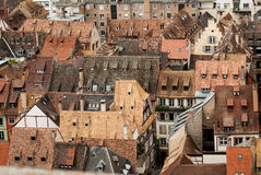 Στέγες του Στρασβούργου, Γαλλία altai στοκ εικόνες με δικαίωμα ελεύθερης χρήσης
