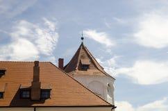 Στέγες του anscient κάστρου Στοκ εικόνα με δικαίωμα ελεύθερης χρήσης