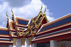 Στέγες του Wat Pho Στοκ φωτογραφία με δικαίωμα ελεύθερης χρήσης