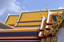 Στέγες του Wat Pho Στοκ εικόνα με δικαίωμα ελεύθερης χρήσης