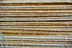 Στέγες φιαγμένες από φύλλα Στοκ φωτογραφίες με δικαίωμα ελεύθερης χρήσης