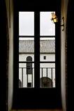 στέγες χιονώδεις Στοκ Φωτογραφίες