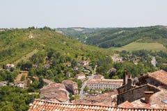 Στέγες cordes-sur-Ciel στοκ φωτογραφίες με δικαίωμα ελεύθερης χρήσης