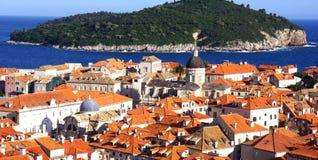Στέγες Dubrovnik Στοκ Εικόνες