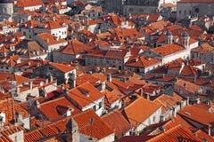 Στέγες Dubrovnik Στοκ φωτογραφία με δικαίωμα ελεύθερης χρήσης