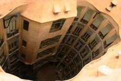 Στέγες Gaudi Στοκ Εικόνες
