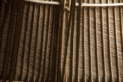 στέγη ฺBamboo Στοκ Εικόνα