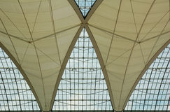 στέγη αερολιμένων Στοκ Φωτογραφίες