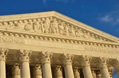 στέγη ανώτατη Ουάσιγκτον συνεχών λεπτομερειών δικαστηρίων Στοκ Φωτογραφία