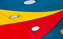 Στέγη από τον ήλιο στη βάρκα παιδικών χαρών Στοκ εικόνα με δικαίωμα ελεύθερης χρήσης