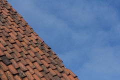 Στέγη αργίλου στοκ εικόνα με δικαίωμα ελεύθερης χρήσης