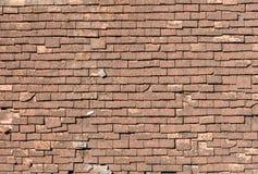 Στέγη βοτσάλων Crackled Στοκ Εικόνα